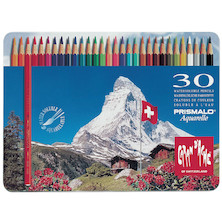 Caran d'Ache Prismalo Colouring Pencils Tin of 30