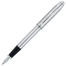 Cross Townsend Fountain Pen Lustrous Chrome