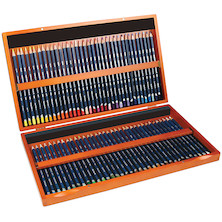 Derwent Watercolour Pencils Wooden Box of 72