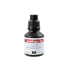 edding T25 Permanent Refill Ink 30ml
