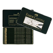 Faber-Castell 9000 Pencil Tin of 12
