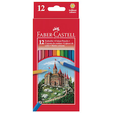 Faber-Castell Classic Colour Pencils Set of 12