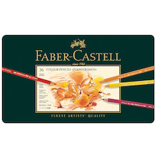 Faber-Castell Polychromos Colouring Pencil Set of 36