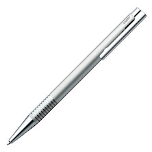 Lamy logo Ballpoint Pen brushed steel