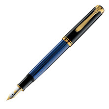 Pelikan Souveran M400 Fountain Pen Black / Blue