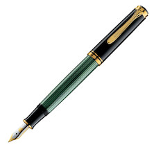 Pelikan Souveran M400 Fountain Pen Black / Green