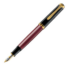 Pelikan Souveran M400 Fountain Pen Black / Red
