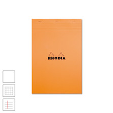 Rhodia Head-Stapled Notepad No.18 A4 (210 x 297) Orange