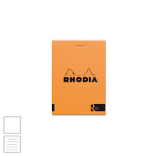 Rhodia R Head-Stapled Notepad No.12 (85 x 120) Orange