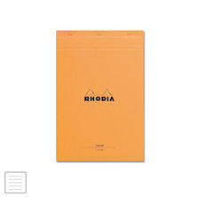 Rhodia Yellow Paper Head-Stapled Legal Pad A4+ (210 x 318) Lined