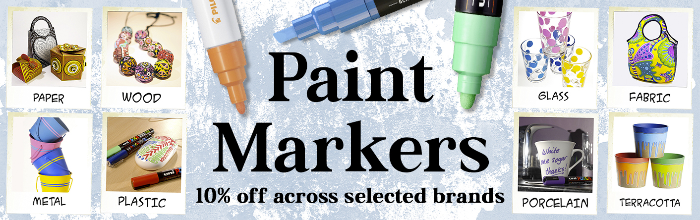 Paint Markers Slider