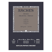Arches Drawing Pad Cream 10x14