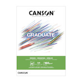 Canson Graduate White Drawing Pad A4