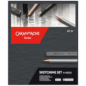 Caran d'Ache Artist Art By Sketching Set