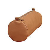 Clairefontaine Round Leather Pencil Case Brown
