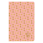 Clairefontaine Neo Deco Sewn Spine Notebook 90x140 Coral
