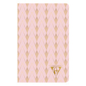 Clairefontaine Neo Deco Sewn Spine Notebook 90x140 Powder Pink