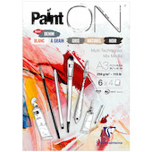 Clairefontaine Paint On Pad Assorted Sheets A3