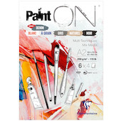Clairefontaine Paint On Pad Assorted Sheets A2