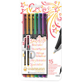 Chameleon Fineliner Set of 6 Assorted Primary