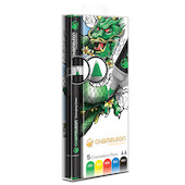 Chameleon Color Tones Pen Set of 5 Assorted Primary