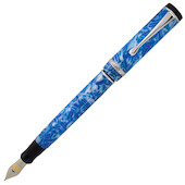 Conklin Duragraph Fountain Pen Ice Blue