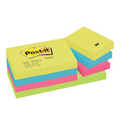 Post-it Energy Colour Notes 38x51mm Assorted Set of 12