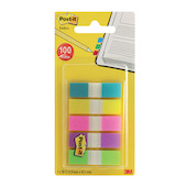 Post-it Small Index Tabs Assorted Set of 5