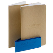 Calepino No.7 Large Notebook Plain Paper Set of 2
