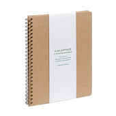 Calepino No.10 Large Spiral Notebook Squared