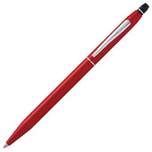 Cross Click Ballpoint Pen Metallic Red
