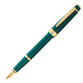 Cross Bailey Light Fountain Pen Green with Gold Trim