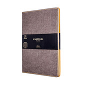 Castelli Harris Notebook 130x210mm Tobacco Brown