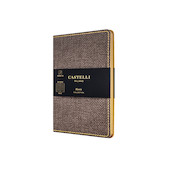 Castelli Harris Pocket Notebook Tobacco Brown