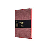 Castelli Harris Pocket Notebook Maple Red