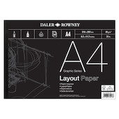 Daler-Rowney Graphic Series Layout Pad A4