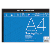 Daler-Rowney Graphic Series Tracing Pad 60gsm A4
