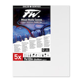 Daler-Rowney FW Mixed Media Canvas 9x12in Pack of 5