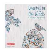 Derwent Colour & Relax Unwind in the Wilds Colouring Book