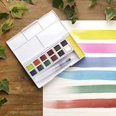 Derwent Inktense Paint Pan Travel Set #02 New