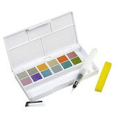 Derwent Metallic Paint Pan Travel Set