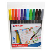 edding Colourpen Fine Wallet of 12