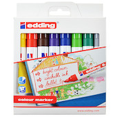 edding Colour Marker set of 8