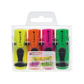 edding 7 Mini Highlighter Pack of 4