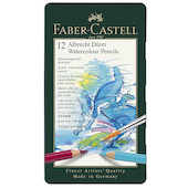 Faber-Castell Albrecht Durer Artists Watercolour Pencil Tin of 12