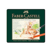 Faber-Castell Albrecht Durer Magnus Watercolour Pencils Tin of 12