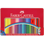 Faber-Castell Colour Grip Pencils Tin of 48