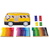 Faber-Castell Connector Pen Bus Box of 33