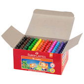 Faber-Castell Chublets Wax Crayons Set of 96