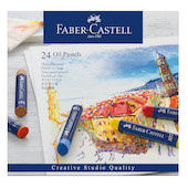 Faber-Castell Creative Studio Oil Pastels Box of 24